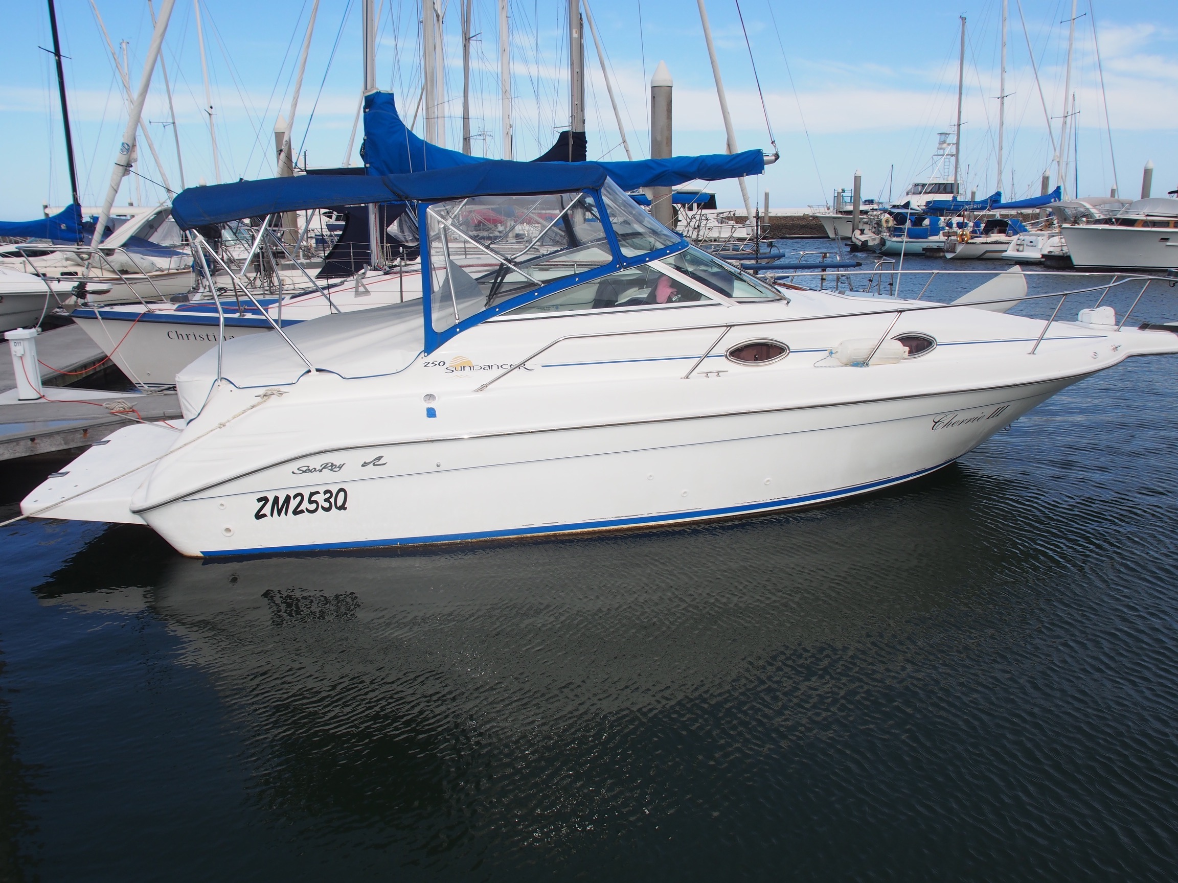 Sea Ray 250 Popular Sports Cruiser SOLD SOLD
